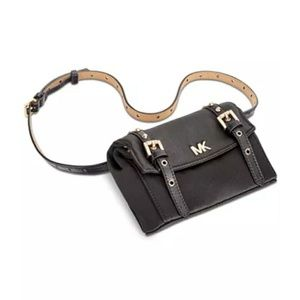 Michael Kors Fancy Grommet Nylon Belt Bag